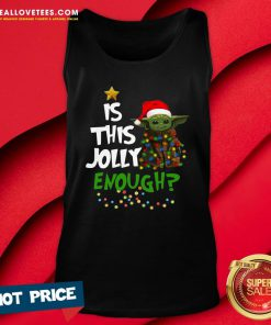 Premium Is This Jolly Enough Tank Top - Design By Reallovetees.com