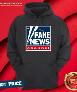 Pro Fake News Channel Hoodie - Design By Reallovetees.com