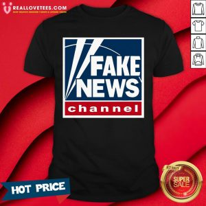 Pro Fake News Channel Shirt - Design By Reallovetees.com