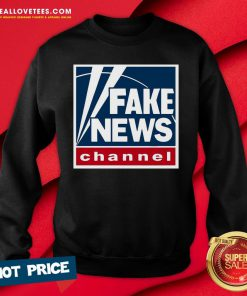 Pro Fake News Channel Sweatshirt - Design By Reallovetees.com