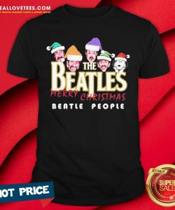 So Snoopy And The Beatles Santa Merry Christmas Beatle People Christmas 2020 Shirt - Design By Reallovetees.com