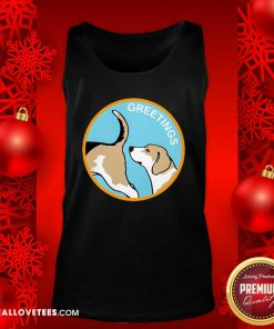 Super Greetings Dog 2020 Tank Top - Design By Reallovetees.com