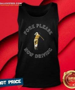 Sweet Fore Please Now Driving Golf Tank Top - Design By Reallovetees.com