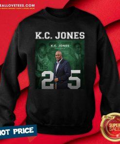 Kc Jones 25 Sweatshirt - Design By Reallovetees.com
