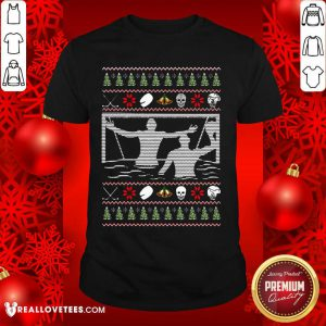 Water Polo Ugly Christmas Shirt - Design By Reallovetees.com