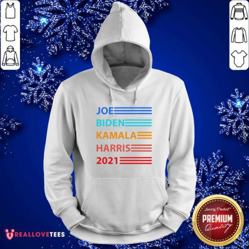 Joe Biden Kamala Harris Biden Harris 2021 Vintage Election Hoodie - Design By Reallovetees.com