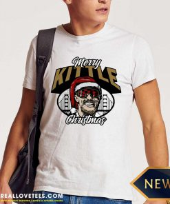 George Kittle Merry Kittle Christmas Shirt - Design By Reallovetees.com