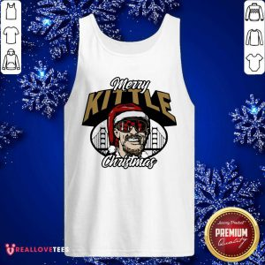 George Kittle Merry Kittle Christmas Tank Top - Design By Reallovetees.com