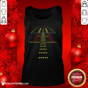 New Runway Light Ugly Christmas Tank Top - Design By Reallovetees.com