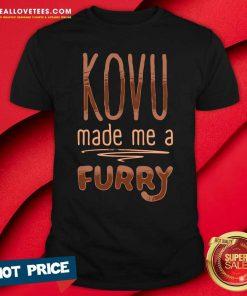 Kovu Made Me A Furry 2021 Shirt - Design By Reallovetees.com
