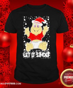 Let It Sjef Mdlz Christmas Shirt - Design By Reallovetees.com