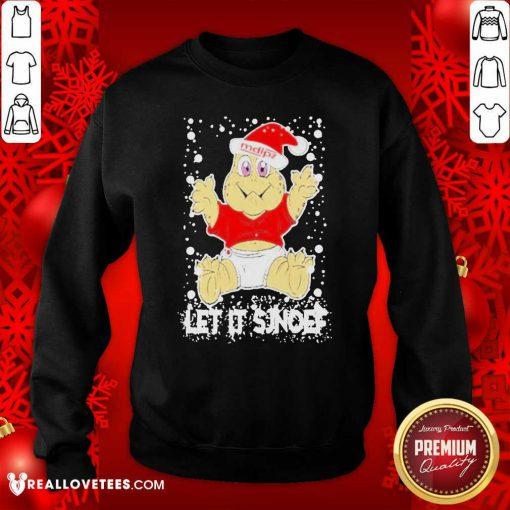 Let It Sjef Mdlz Christmas Sweatshirt - Design By Reallovetees.com