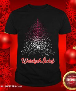 Wesolych Swiat Polish flag Christmas Tree Shirt - Design By Reallovetees.com