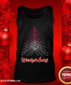 Wesolych Swiat Polish flag Christmas Tree Tank Top - Design By Reallovetees.com