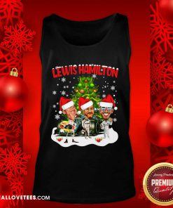 Lewis Hamilton Chibi Christmas Tree Tank Top - Design By Reallovetees.com