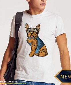 Yorkshire Terrier Dog I Love Mom Shirt - Design By Reallovetees.com