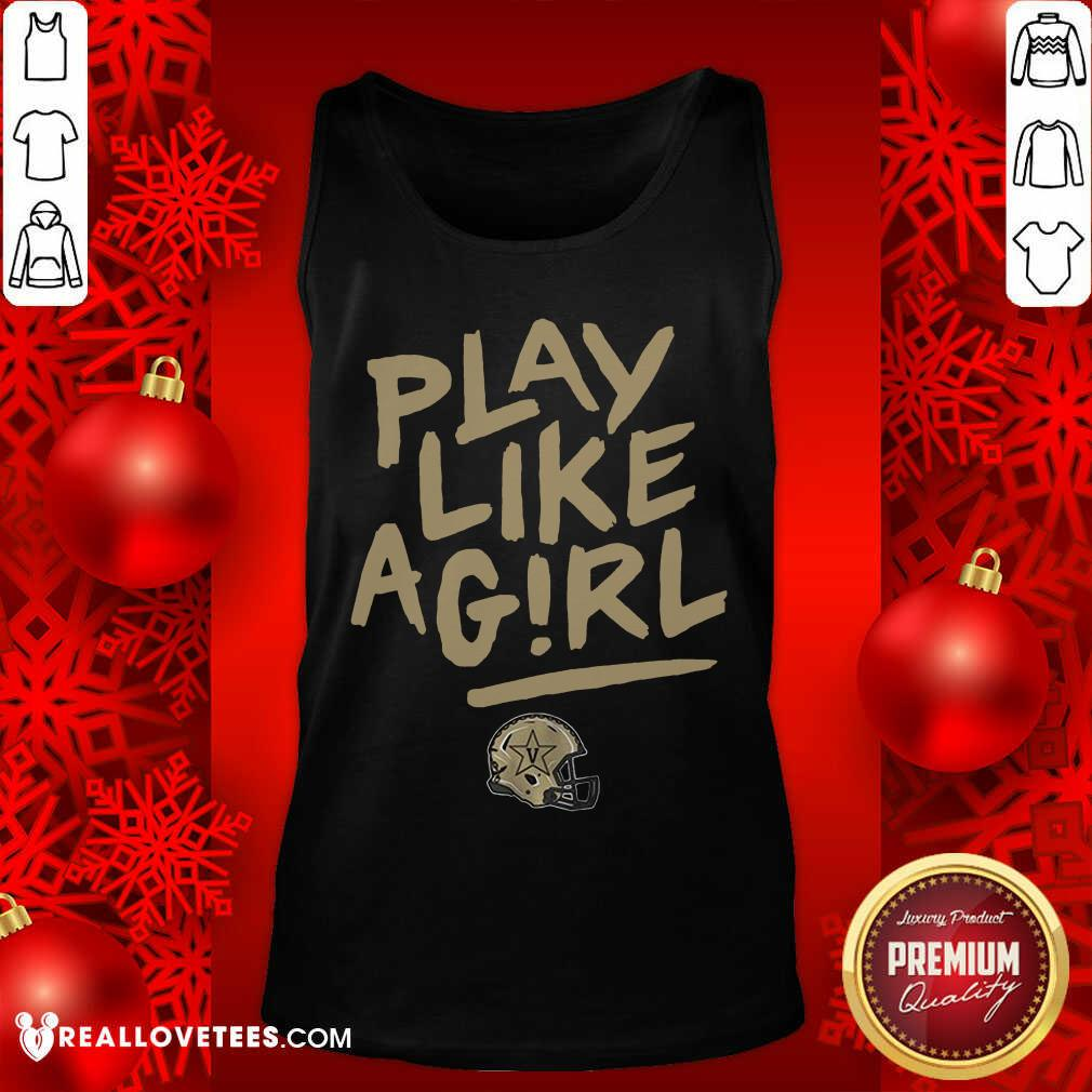 Play Like A Girl Tank Top - Design By Reallovetees.com
