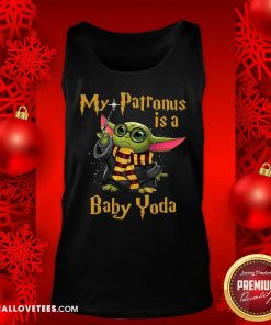 Baby Yoda My Patronus Is A Tank Top - Design By Reallovetees.com