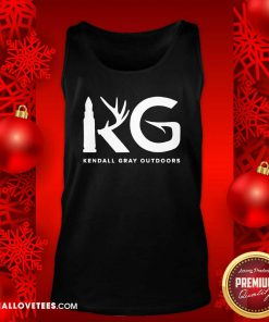 Kendall Gray Outdoors Merch Kg Tank Top - Design By Reallovetees.com