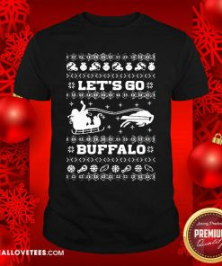 Let Go Buffalo Bills Ugly Christmas Shirt - Design By Reallovetees.com