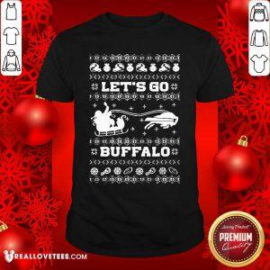Let Go Buffalo Bills Ugly Christmas Shirt - Design By Reallovetees.com