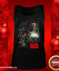 Waking The Dead Signatures Tank Top - Design By Reallovetees.com