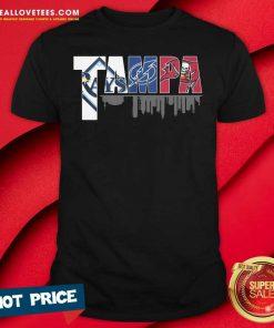 Tampa Tampa Bay Rays Tampa Bay Lightning Tampa Bay Buccaneers Shirt
