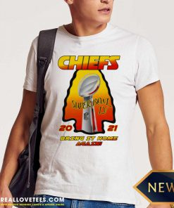 Kansas City Chiefs 2021 AFC Champions Super Bowl LV Bring It Home Again Shirt