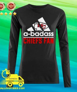 Great NFL Kansas City Chiefs A-badass Chiefs Fan Adidas Long-sleeved