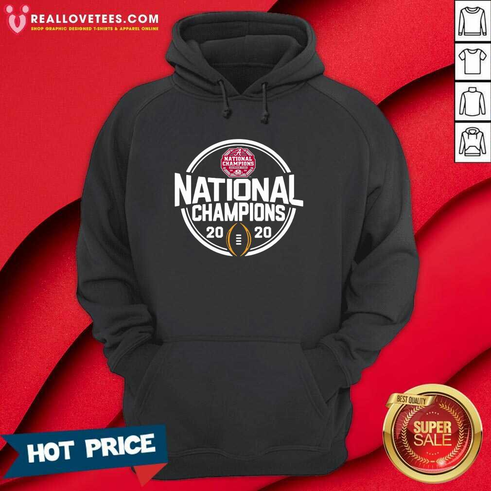 Alabama Crimson Tide Blue 84 Youth College Football Playoff 2020 National Champions Schedule Hoodie