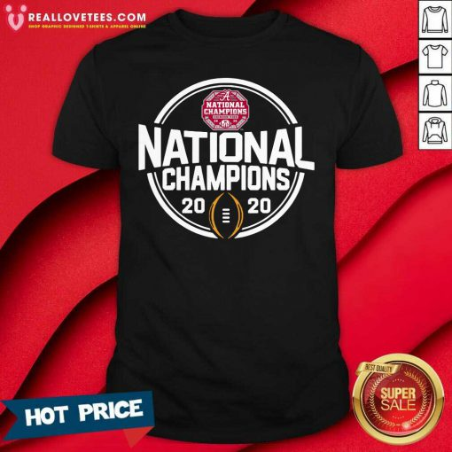 Alabama Crimson Tide Blue 84 Youth College Football Playoff 2020 National Champions Schedule Shirt