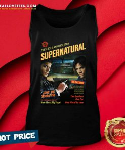 Possessed And Obsessed Supernatural Driver Picks The Music Shotgun Tank Top