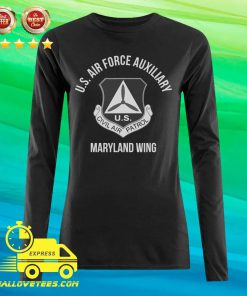U.S Air force auxiliary Maryland Wing Civil Air Patrol Long-sleeved