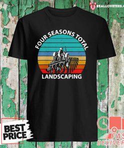 Four Season Total Landscaping Vintage Shirt