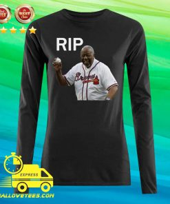 Rip Hank Aaron Braves 2021 Long-sleeved