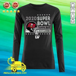 Tampa Bay Buccaneers 2020 NFC Champions Touchback 2-Hit Long-sleeved