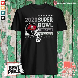 Tampa Bay Buccaneers 2020 NFC Champions Touchback 2-Hit Shirt