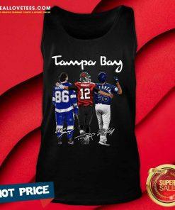 Tampa Bay Nikita Kucherov Tom Brady Randy Arozarena Signatures Tank Top