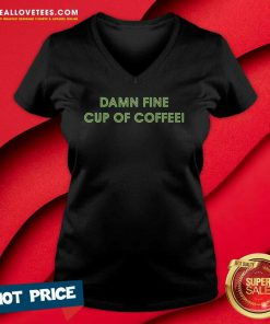 Damn Fine Cup Of Coffee V-neck