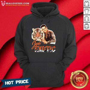 Perfect Joe Burrow Tigers King Joe Exotic Hoodie
