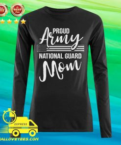 Military Mom Army Gifts Proud Army National Guard Mom Long-sleeved