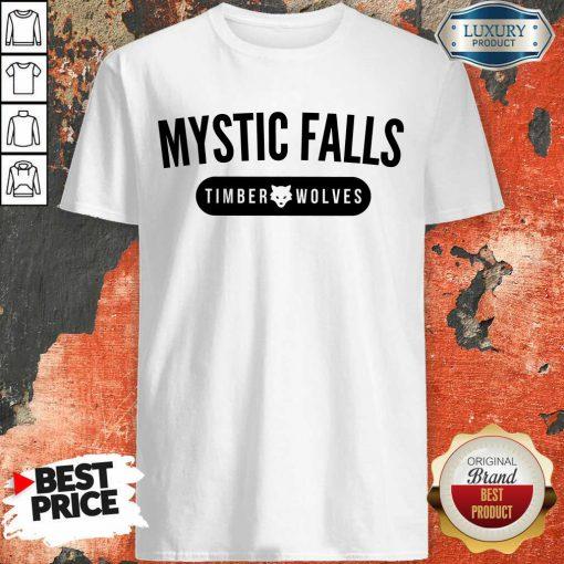 Nice Vampire Diaries Mystic Falls Timberwolves Shirt