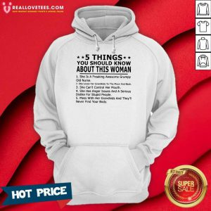 5 Things You Should Know About This Woman Hoodie