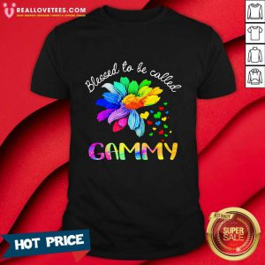 Blessed To Be Called Gammy LGBT Shirt