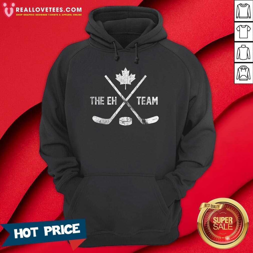 The Eh Team Canadian Hockey Hoodie